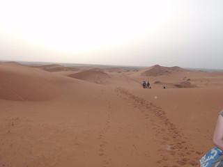 Dunas en Merzouga, Marruecos