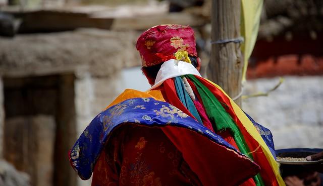 Tibetan Shaman ritual at Kibber, India 2016