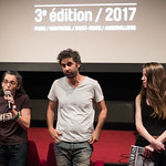 Sat, 06/10/2017 - 19:46 - Projection en avant-première parisienne de On récolte ce que l'on sème de Alaa Ashkar.  Cinéma le Studio, Aubervilliers, 10 Juin 2017 © Stéphane Burlot