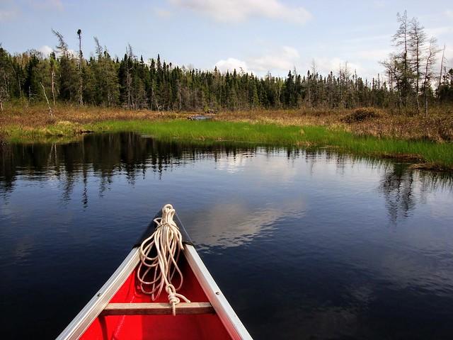Canoeing in Miller's Pond, Sony DSC-W150