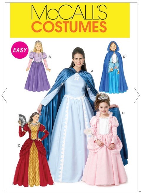 Rapunzel/Tangled costume McCalls 6420