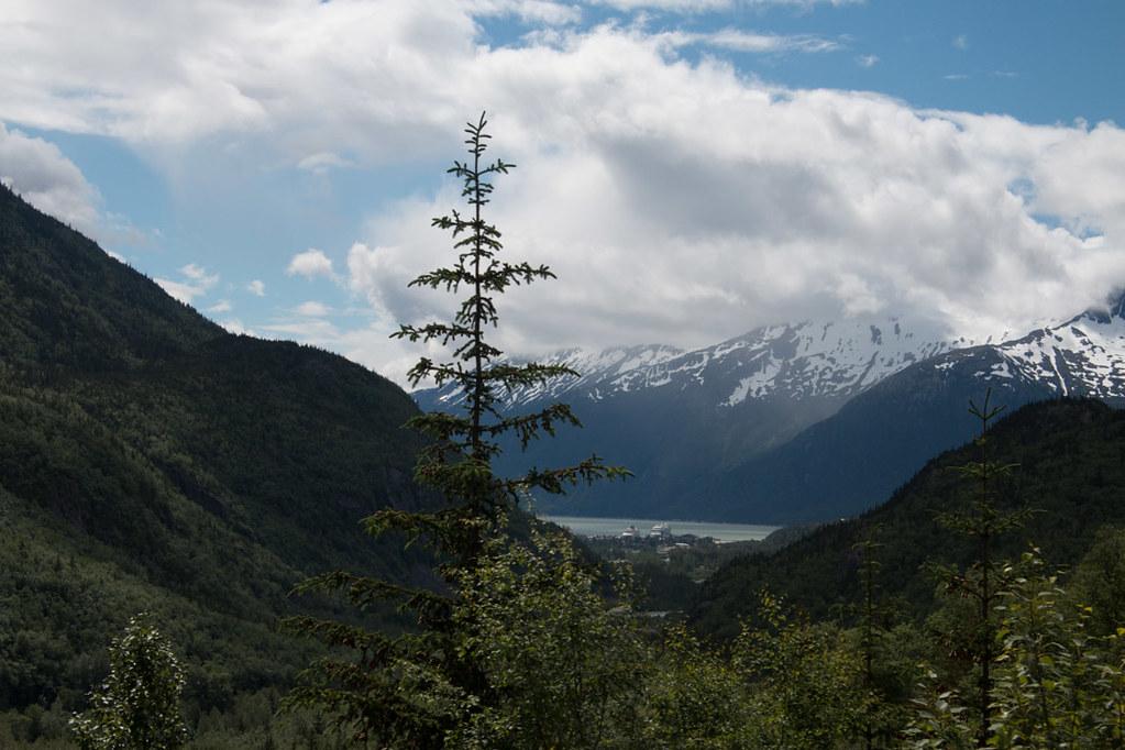 Views from White Pass and Yukon Route train   Alaska cruise excursion