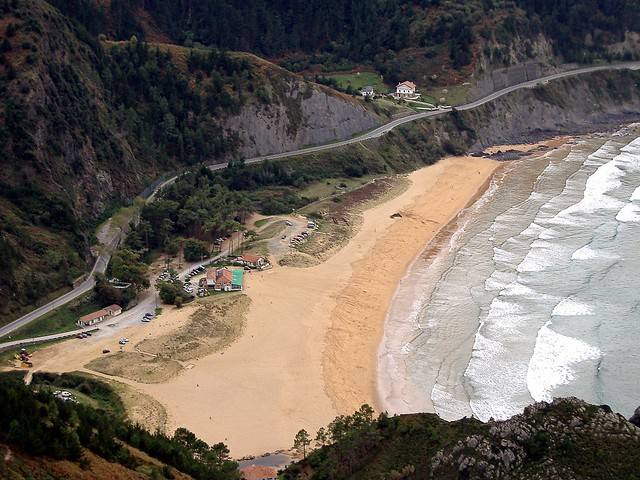 La playa de Laga, Fujifilm FinePix A345