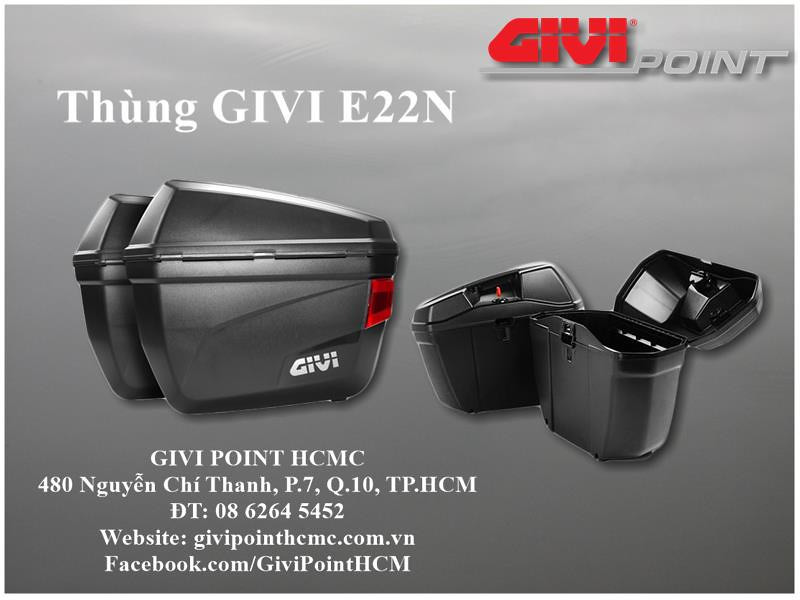 Thung xe Givi - 17