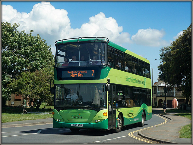 Southern Vectis 1117, Yarmouth