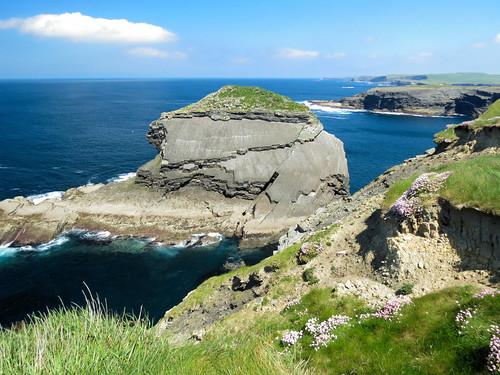 ireland éire coast sea wildatlanticway clare county anclár kilkee cliffs