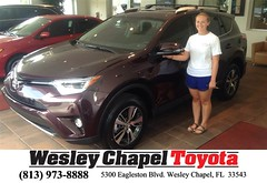 #HappyBirthday to Brittany from Ross MacDonald at Wesley Chapel Toyota!