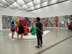 At The Broad