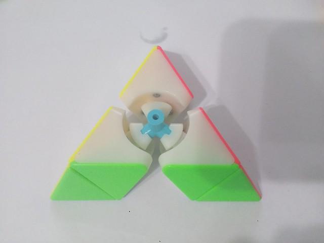 魔方教室 金字塔魔方 中心與基塊