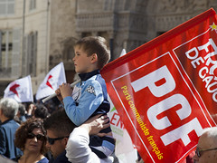 Communist  ' in the making ' ?   - Labour Day , France