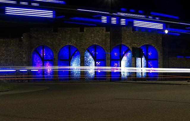 Blue Lights (Explore 17/06/17 #360), Sony ILCE-6300, Sony E 18-200mm F3.5-6.3 OSS LE