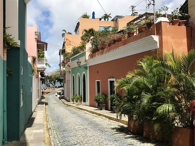 Streets of Old San Juan, Puerto Rico