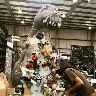 Dino plush #makerfaire