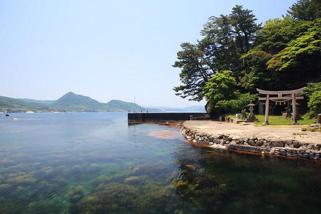 Shrine at the seashore