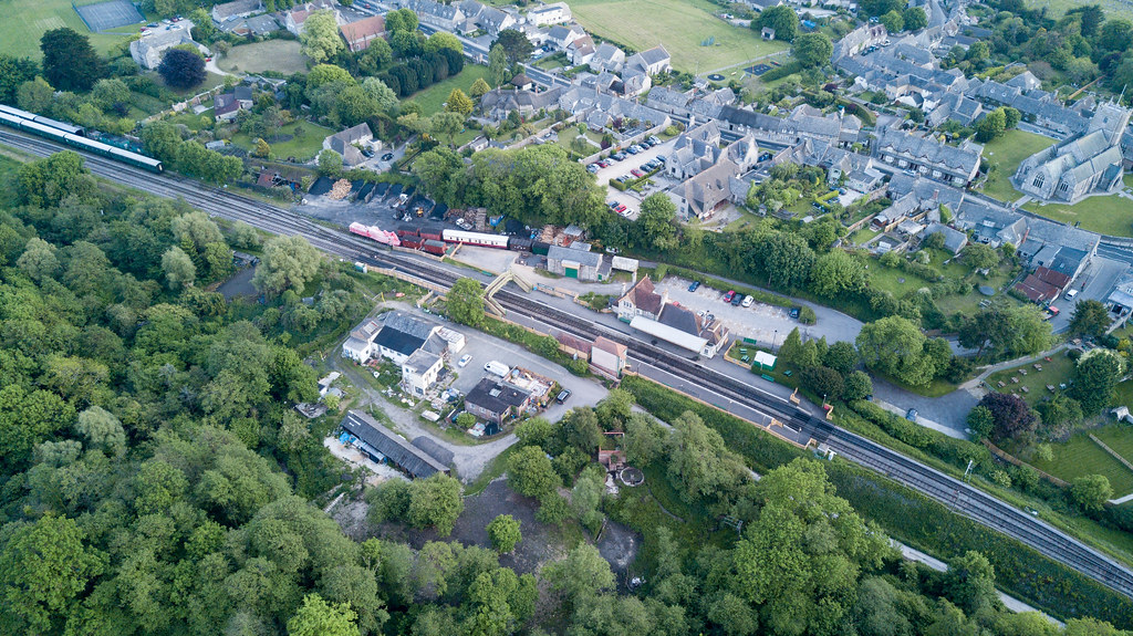 corfe station - Click to show full size
