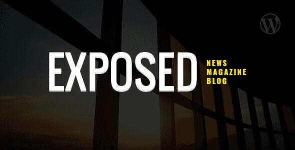 Exposed WordPress Theme free download