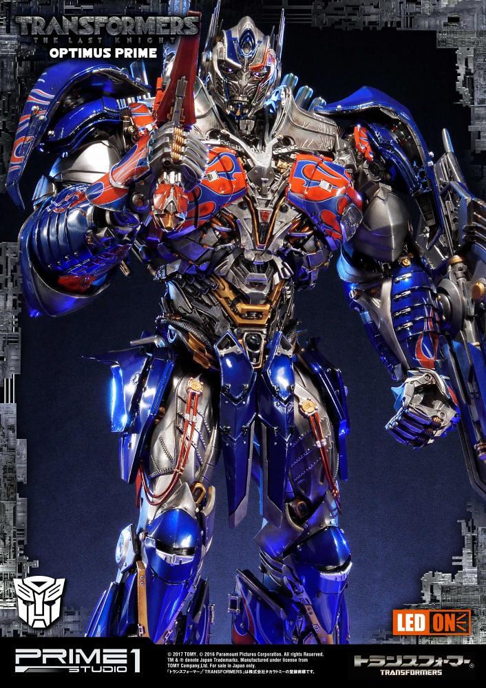Prime 1 Studio 變形金剛5:最終騎士【柯博文】Optimus Prime 超巨大全身雕像