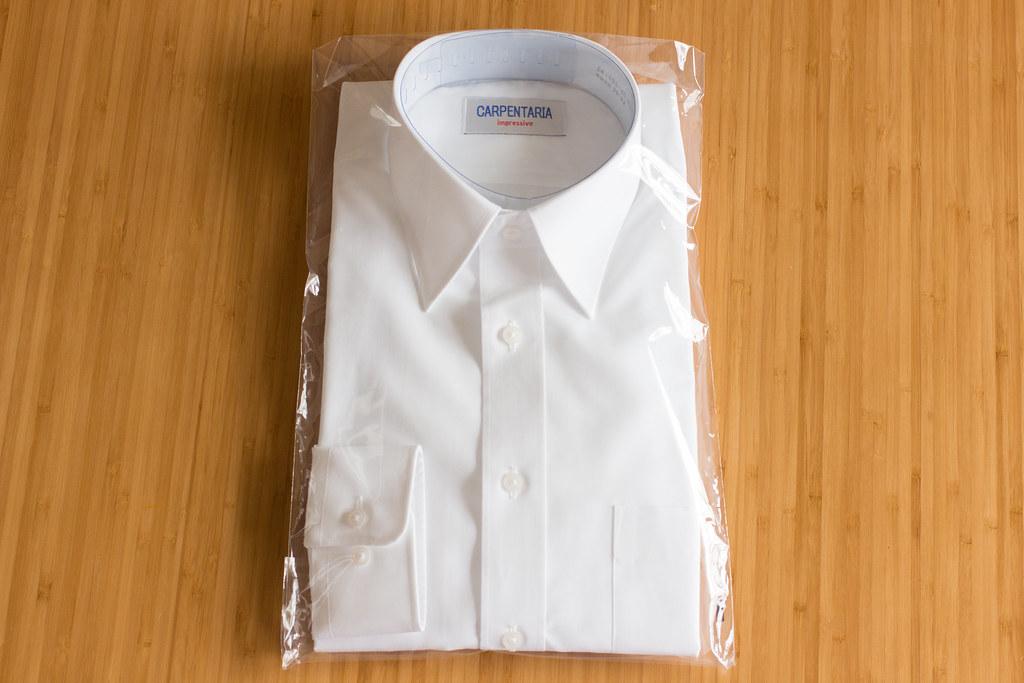 軽井沢シャツのサンプルシャツ