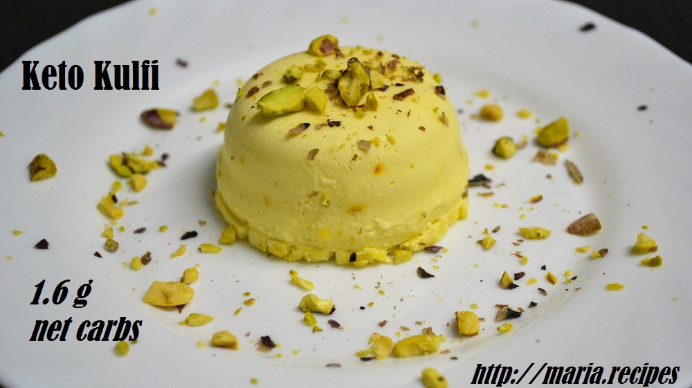 Keto kulfi mariacipes keto enthusiast indian food lover and my favorite ice cream is kulfi an indian milk based egg free ice cream that is usually flavored with cardamom and other ingredients such as forumfinder Gallery