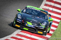 Allied Racing Porsche Cayman CSMRGT GT4 European Series Northern Cup 2017 Brands Hatch Sportscar Racing News / Planet Porsche