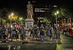 Nachtwacht op het Rembrandtplein