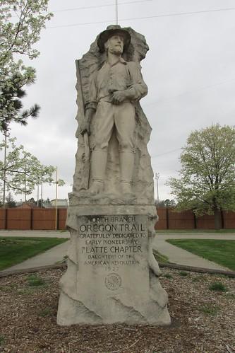 columbusne columbusnebraska pawneepark plattecounty plattecountyne plattecountynebraska northbranchoftheoregontrailmarker oregontrail nebraska memorial monument