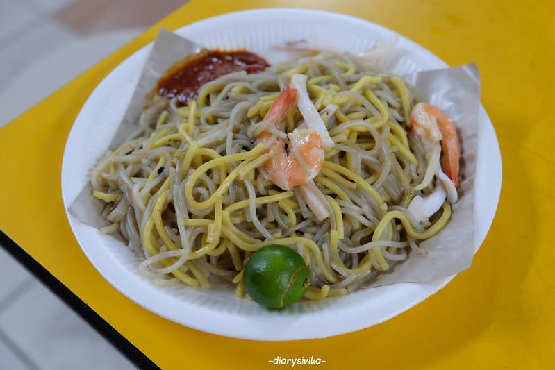 kuliner chinatown, singapore