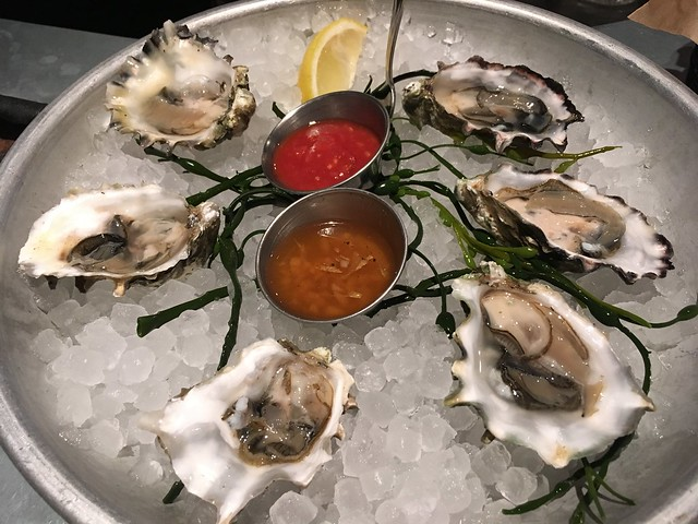 Fanny Bay oysters - Boxing Room