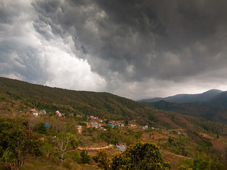 rain over Bandipur