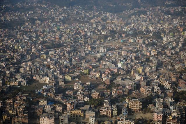 NPL - Katmandu from the sky - Nepal