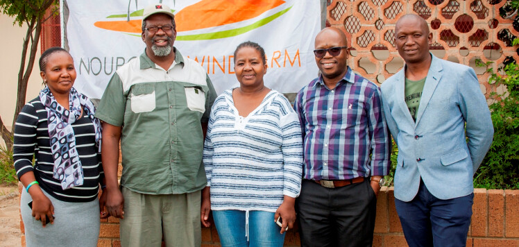 Noupoort wind farm stimulates enterprises through capacity building programme