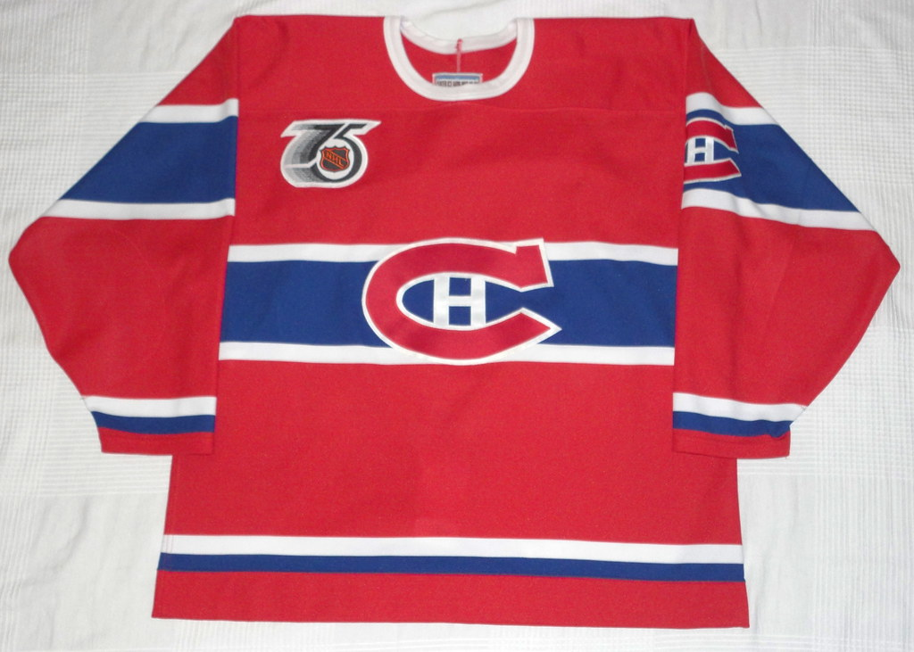 1991-92 Montreal Canadiens TBTC Jersey Front