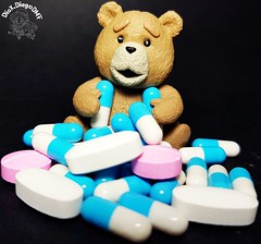 If Ted dates a pharmacist... #weed #Smoke #Ted #Green #Universal #universalstudios #teddy #bear #Figma #Movie #ActionFigure #collection #cole��o #drugs #pills #pill #pharmacy #pharmaceutical #high #pharmacist