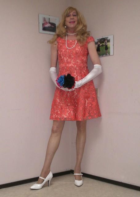 My new pink dress.