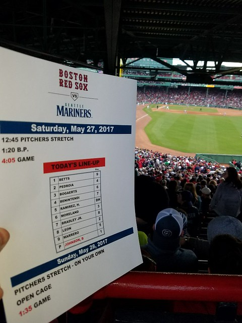 Ms - Red Sox (2) May 27, 2017