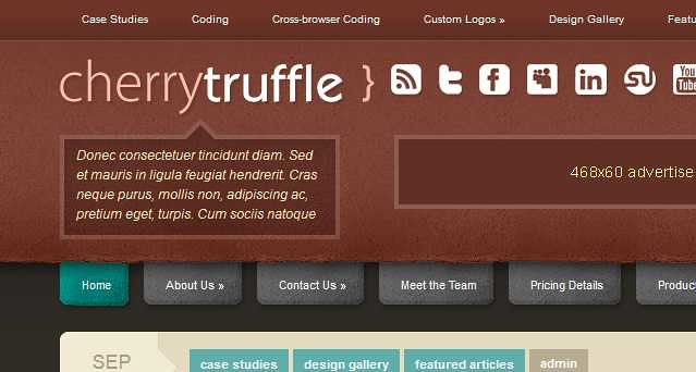 CherryTruffle WordPress Theme free download