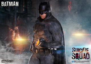 Prime 1 Studio 自殺突擊隊【蝙蝠俠】Suicide Squad Batman 1/3 比例全身雕像作品 MMSS-04EX