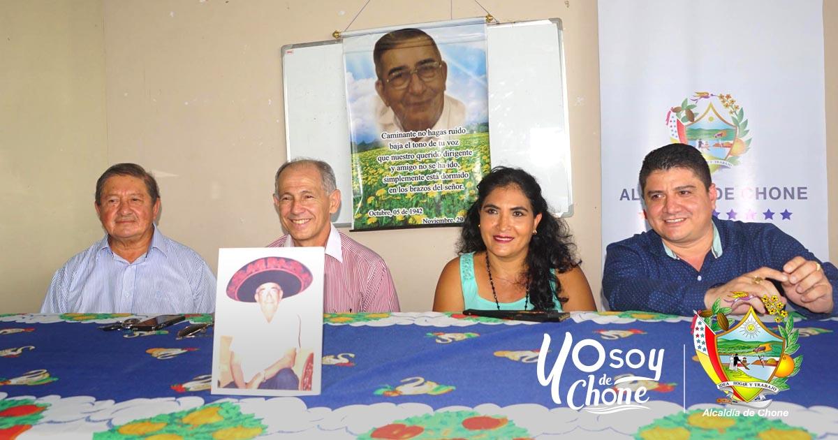 Concejales de Chone rindieron cuentas en la parroquia San Antonio
