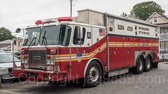 FDNY Rescue 5 Fire Truck, Concord, Staten Island, New York City