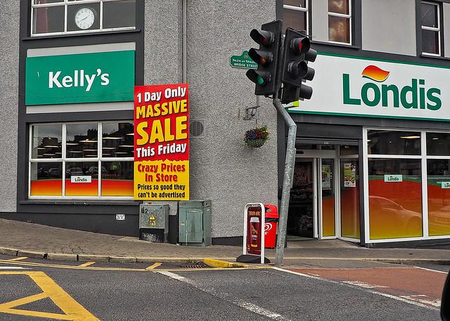 Kelly's Londis Massive Sale
