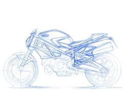 Ducati 696 MONSTER 2008 - 9