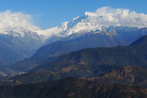 annapurnaii montagnes nepal