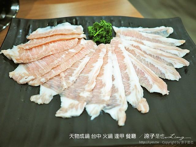 天物成鍋 台中 火鍋 逢甲 餐廳  62