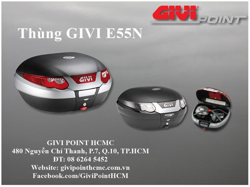 Thung xe Givi - 20
