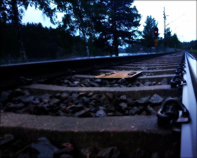 On track.