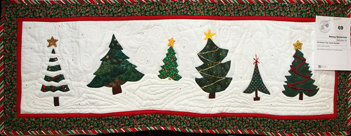 069: Christmas Tree Tablerunner—Nancy Swinerton