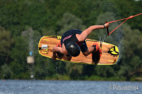 Wakeboarding at Cablepark Almere The Netherlands
