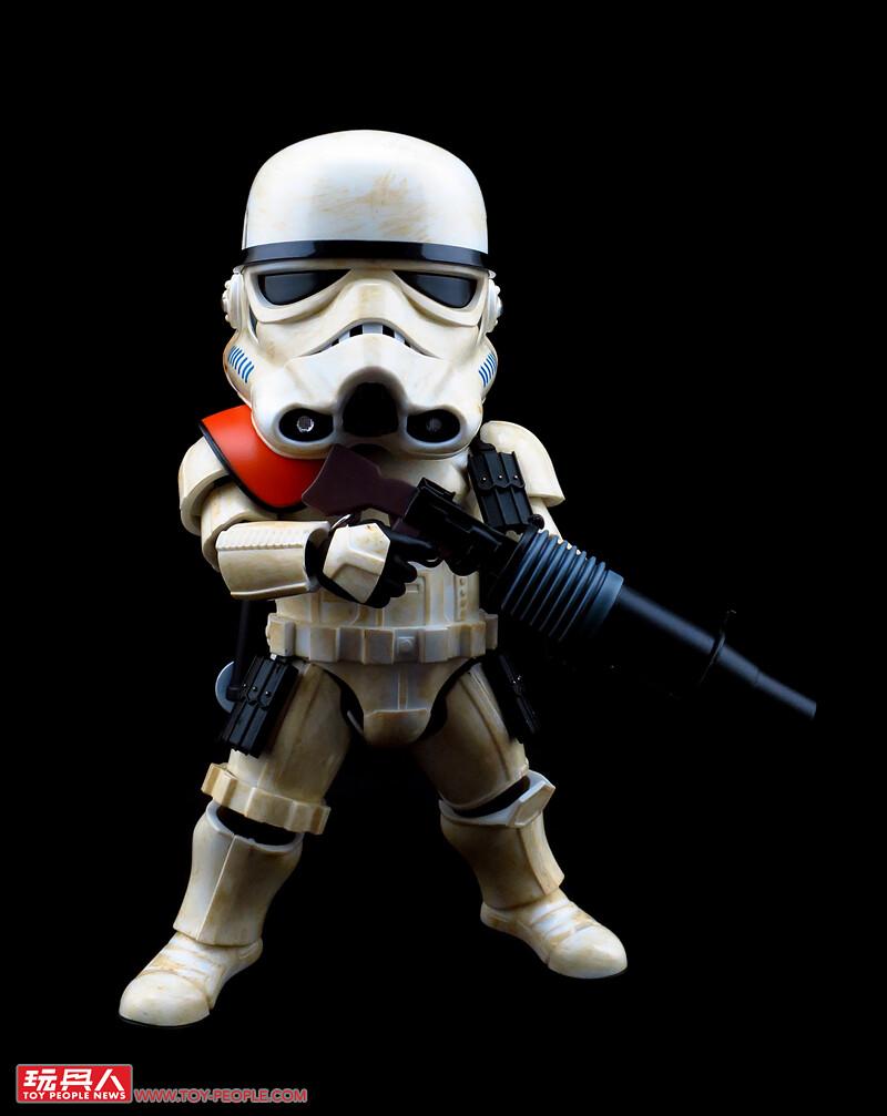 一點也不討厭沙子、縱橫大漠的帝國騎兵隊登場!野獸國EAA-014S濕背獸&帝國沙漠兵 開箱報告