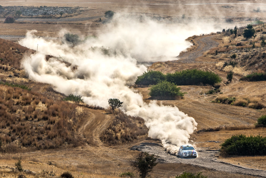 15 PANTELI Petros (cyp) and CHRISTODOULOU Kyprianos (cyp) Q8 OILS RALLY TEAM MITSUBISHI LANCER EVO IX action during the 2017 European Rally Championship ERC Cyprus Rally,  from june 16 to 18  at Nicosie, Cyprus - Photo Thomas Fenetre / DPPI