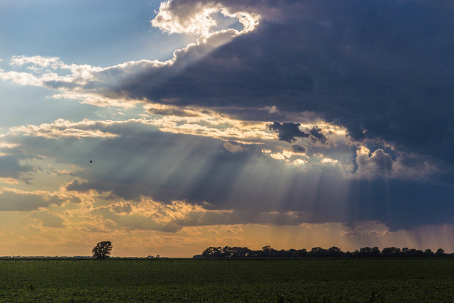 Crepuscular Rays, Canon EOS REBEL T3I, Canon EF-S 18-135mm f/3.5-5.6 IS